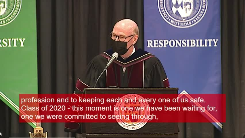 2020 SJFC Commencement (during Alumni Weekend 09/1...
